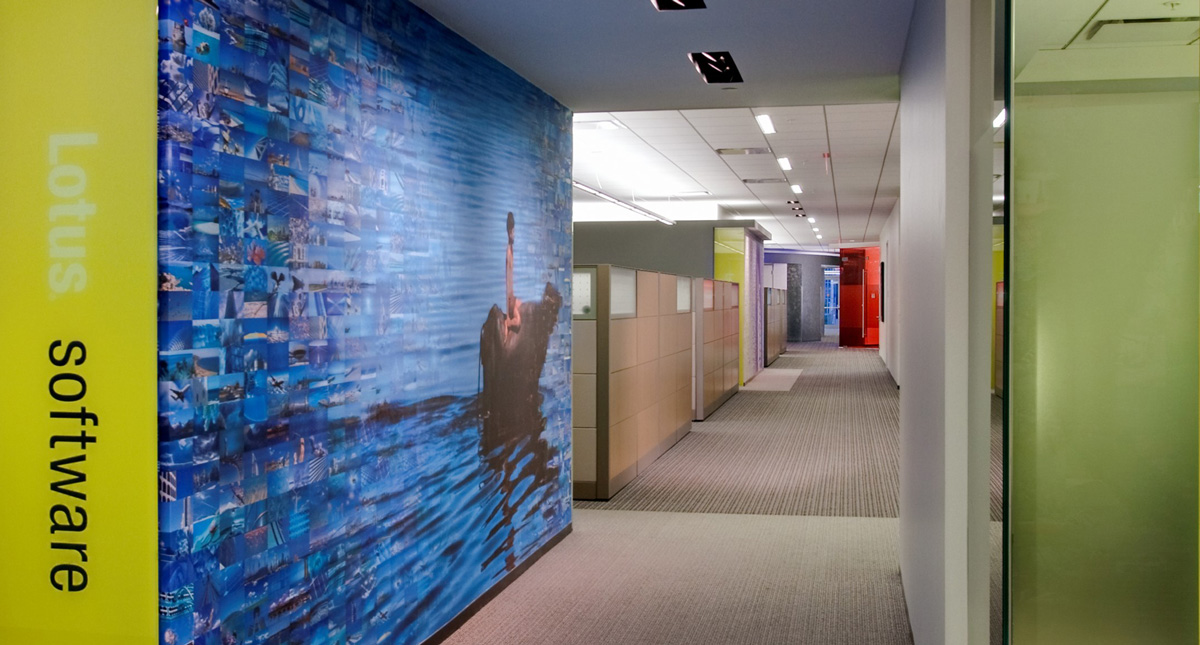 IBM Wall Graphic