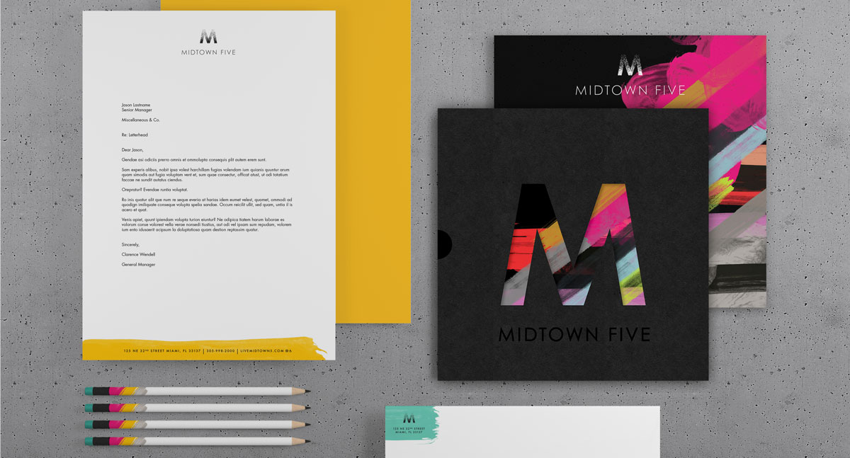 Midtown 5 Stationery