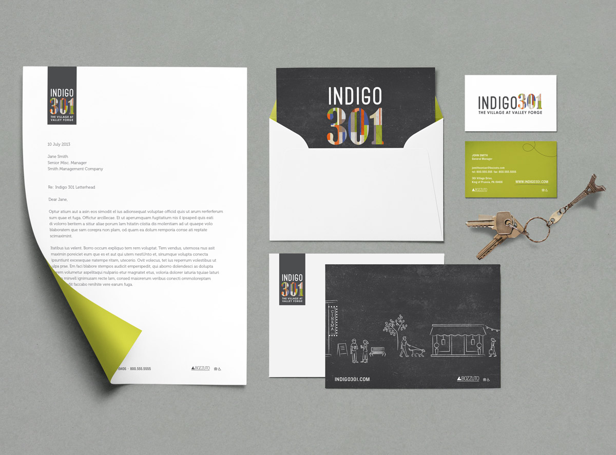 Indigo301 Stationery