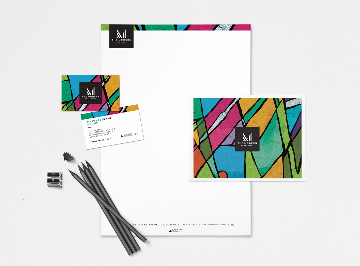 The Modern at Art Place Stationery