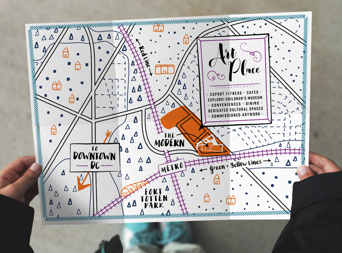 The Modern at Art Place Map