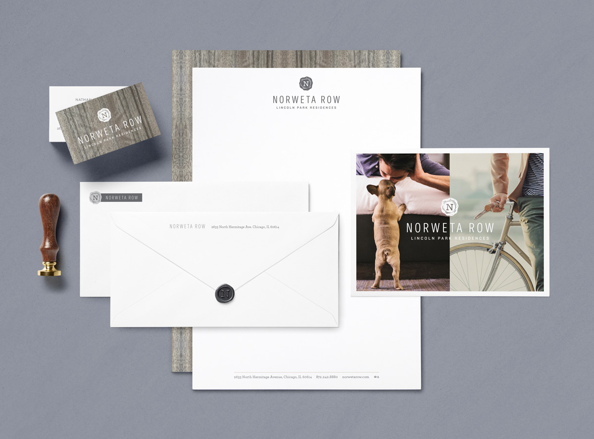 Norweta Row Stationery
