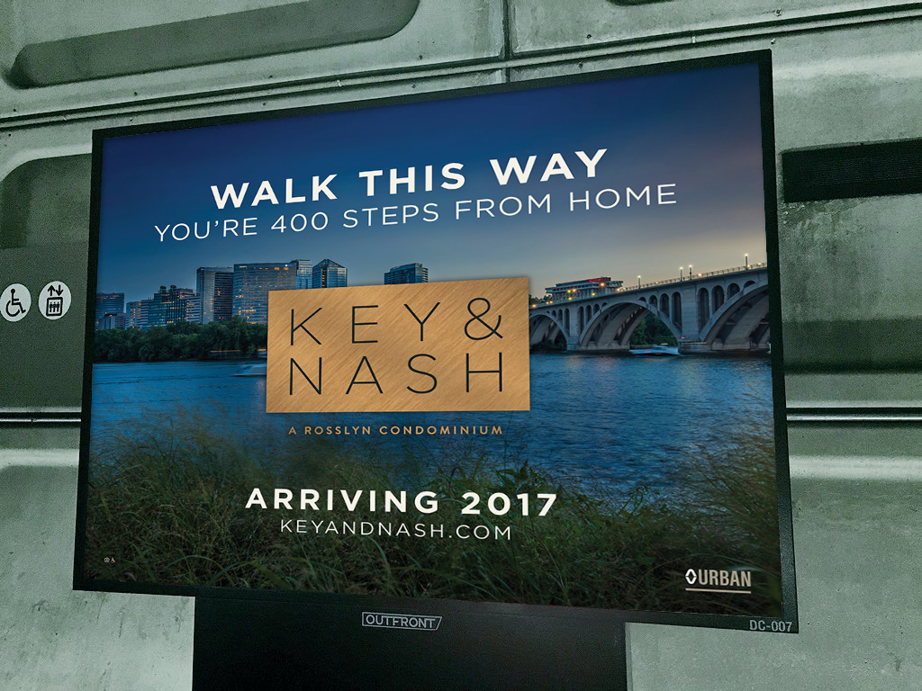 Key & Nash Subway Ad