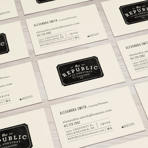 The Republic Business Card