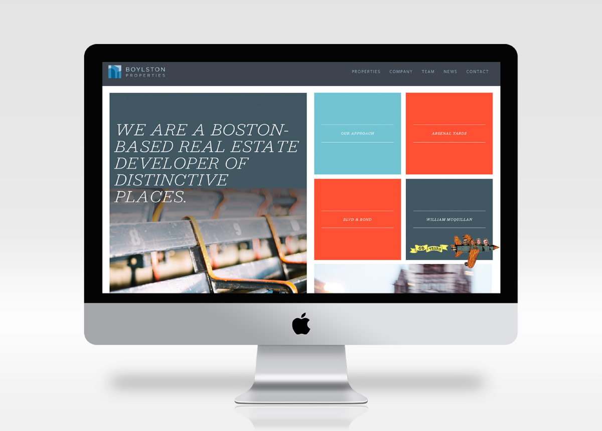 Boylston Properties website